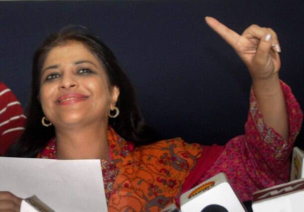 Former AAP leader Shazia Ilmi (PTI photo)