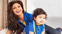 Happy Mother's Day mom, tweets Shilpa Shetty's son Viaan