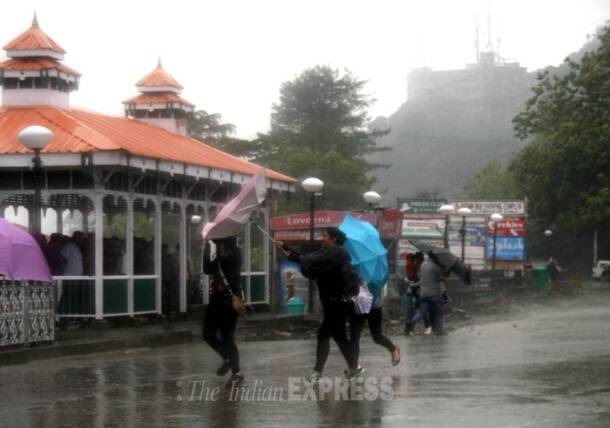 Rains in Shimla, Ludhiana
