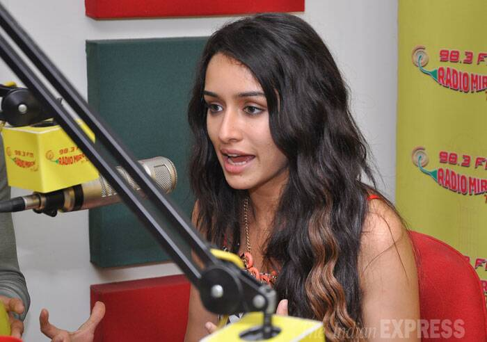 Shraddha, who did a cameo in 'Gori Tere Pyaar Mein', will be seen playing the role of Aisha in the crime-thriller. (Source: Varinder Chawla)