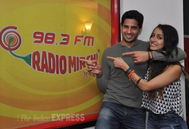 Shraddha, Sidharth out and about for 'Ek Villain'