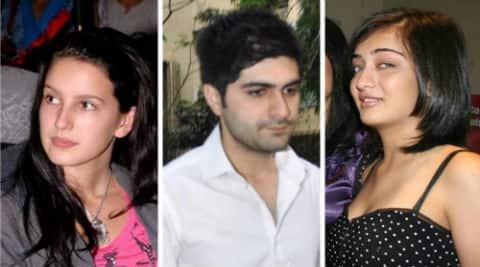 Katrina Kaif's sister Izabel, Sonam Kapoor's brother Harshvardhan and Shruti Haasan's sister Akshara.