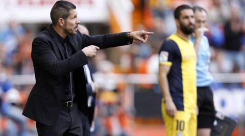 The resilience and team ethic that Diego Simeone has inspired in his Atletico Madrid players could lead them to becoming European champuons on Saturday. (Source: AP)