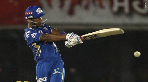 Simmons said it was a conscious decision that the West Indian would take the attack to the bowlers (Photo: BCCI/IPL)