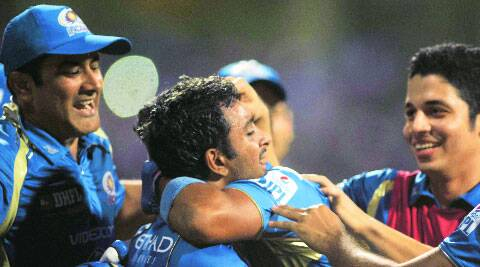 Ambati Rayudu's cameo was crucial to Mumbai's success.  ( Source: Express photo by Kevin D'Souza )