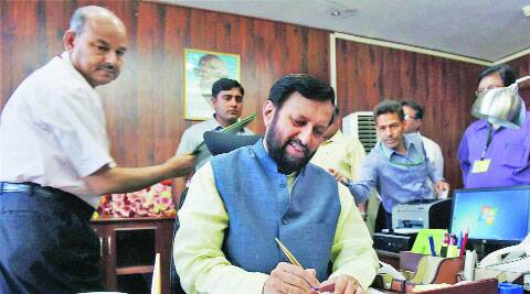 Javadekar takes charge of MoEF on Thursday. ( Source: PTI )