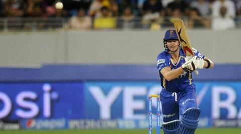 Rajasthan Royals batsman Steven Smith showed incredible presence of mind in the Super Over against Kolkata Knight Riders. (IPL/BCCI)