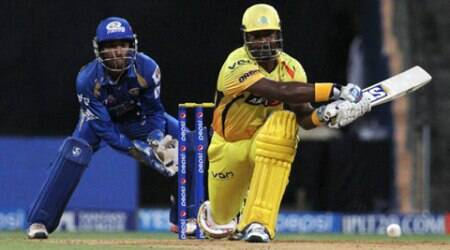 IPL 7 Live Cricket Score, MI vs CSK: MI clash with CSK in Mumbai. (BCCI/IPL)