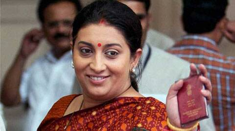 The BJP has backed Smriti Irani, questioning the qualification of UPA chairperson Sonia Gandhi.