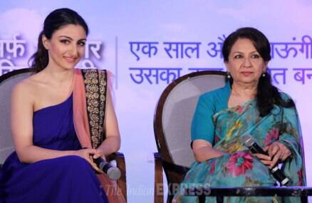 Soha Ali Khan's outing with mom Sharmila Tagore