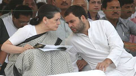 Sonia is also the Chairperson of the Congress-led UPA. Rahul, who is the Congress Vice President, had led the party in the Lok Sabha polls. (IE Photo)