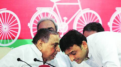 Akhilesh is likely to remove 100 SP leaders who had been bestowed with the minister of state status, often following recommendation by Mulayam's loyalists
