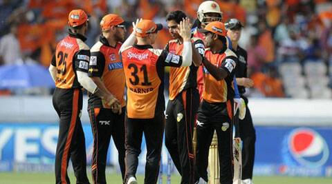 Sunrisers Hyderabad will have to win their match against Kolkata Knight Riders to keep their chances of making it to the playoffs alive. (Source: IPL/BCCI)