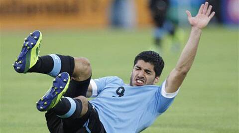 Luis Suarez scored three goals at the 2010 World Cup, and added four when Uruguay won the 2011 Copa America in Argentina (File)