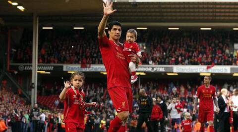 Luis Suarez is urging his Uruguayan teammates to learn from the fallout of Liverpool's season with the World Cup looming. (Reuters)