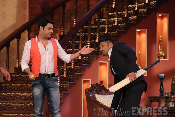Kapil Sharma's comedy night with Vinod Khanna, Suniel Shetty