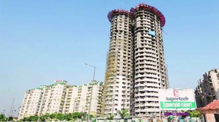 Over 600 flats in these towers have already been sold. (Archive)
