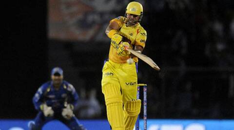 CSK comfortably chased down 174 with eight balls to spare as Suresh Raina (54 not out) and David Hussey (40 not out) shared an unbeaten 89-run stand for the fourth wicket. (Source: IPL/BCCI)
