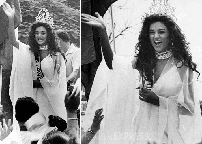 """Special mention 4 my other home born 4rm d heart, PHILIPPINES!!:))i cudn't have asked 4 a more soulful country 2 have won Miss Universe in!!,"" she tweeted. <br /> Sushmita Sen is celebrating her special day in Maldives. (Source: Express archive)"