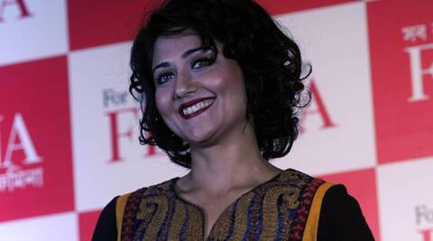 Swastika Mukherjee was hospitalised after she fell on the floor during a late-night party.