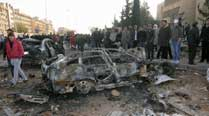 Strong blast in Syrian town near Iraq kills 8