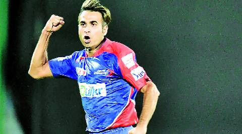 Tahir, 3/22, was the pick of Delhi's bowlers against Punjab. ( Source: File photo )