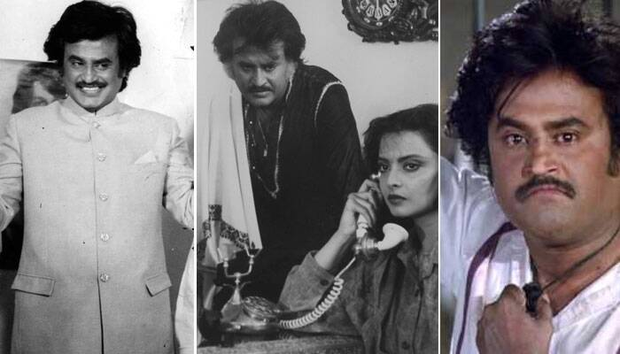 <b>Gair Kanooni/Tamacha/Bhrashtachar: In 1988 and 1989 Rajinikanth was seen in Gair Kanooni, Tamacha and Bhrashtachar which were just average grossers at the box office. (Source: Express archive photo)</b>