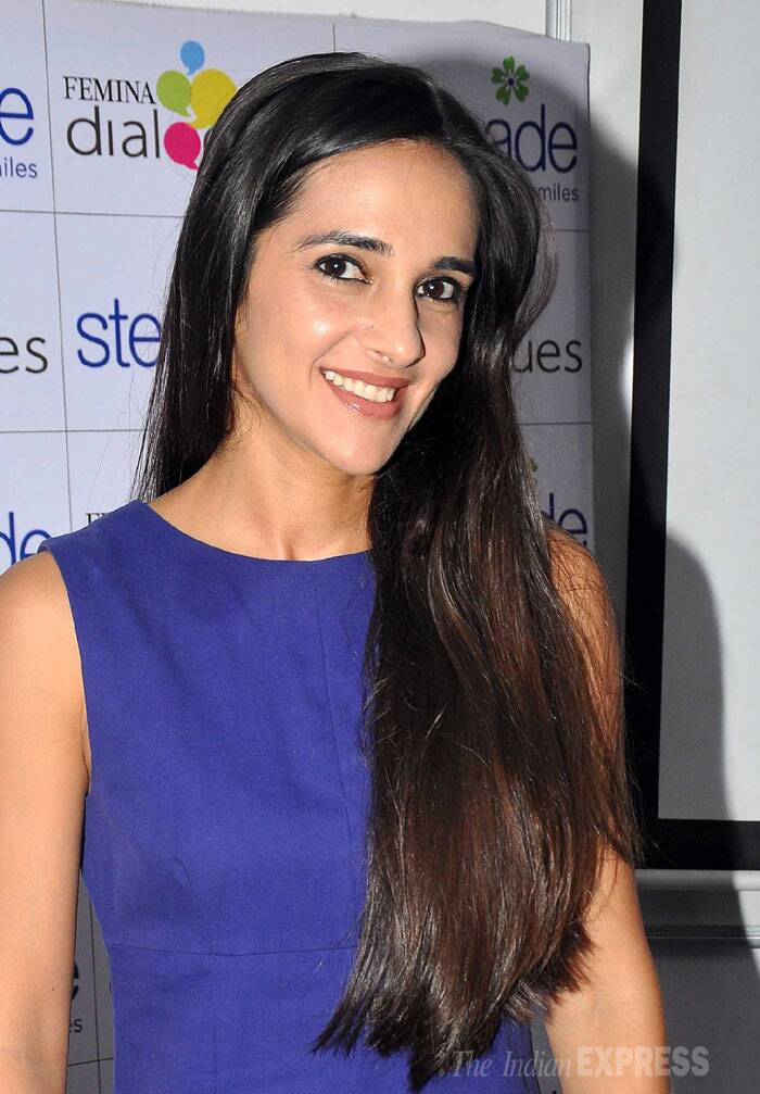 Actress Tara Sharma attended an interactive session on child healthcare in keeping with Mother's Day. (Photo: Varinder Chawla)