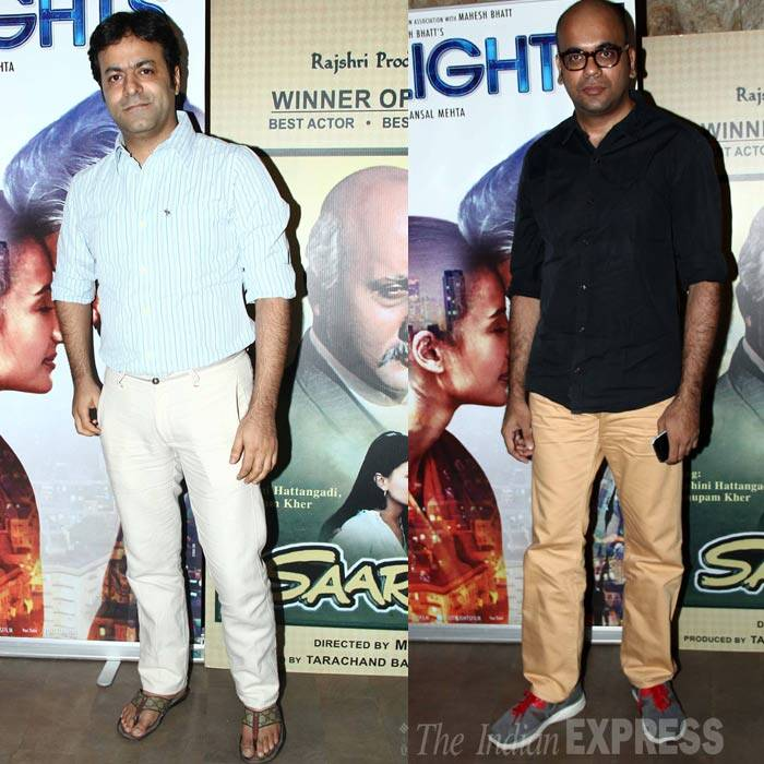 Directors Suparn Verma and Tarun Mansukhani also attended the screening. (Source: Varinder Chawla)