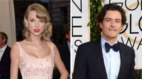 Ed Sheeran wants Taylor Swift to date Orlando Bloom. ( Source: AP )