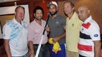 Sachin Tendulkar meets Sardar Singh & Co, shares World Cuptales