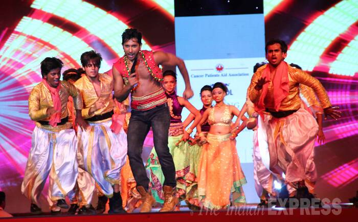 Celebrity choreographer Terence Lewis put up an incredible performance. (Photo:Varinder Chawla)