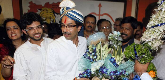 "Stating that the Shiv Sena had supported the BJP during its difficult days, Thackeray said, ""Now, when their situation is improving they will not do anything wrong to us."" (Source: Express photo by Prashant Nadkar)"