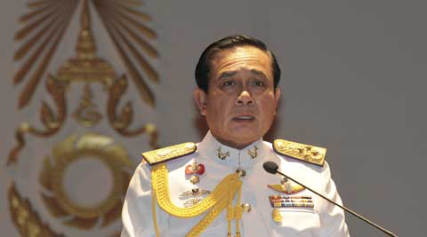 Thailand's army took power on May 22 in a bloodless coup after six months of sometimes violent street protests. (Source: AP)