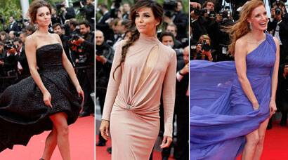 Cannes Red Carpet Stunners: Jessica Chastain, Eva Longoria, Cheryl Cole