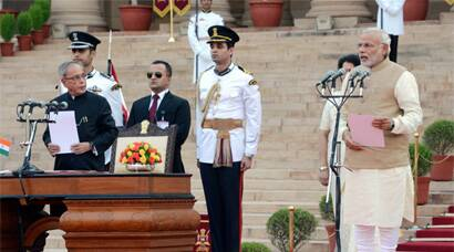 Narendra Modi sworn in as 15th Prime Minister