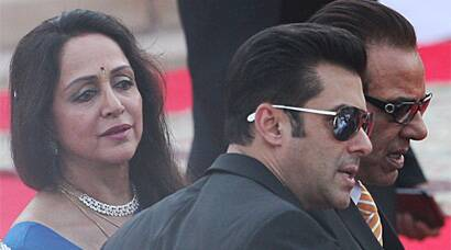 Nita Ambani, Salman Khan, Hema Malini at Modi's swearing-in