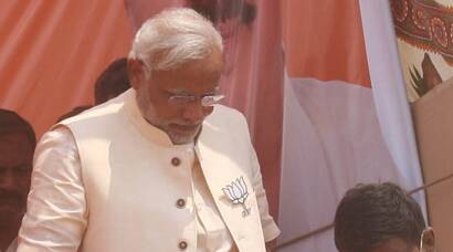 Narendra Modi addresses rally in Azamgarh