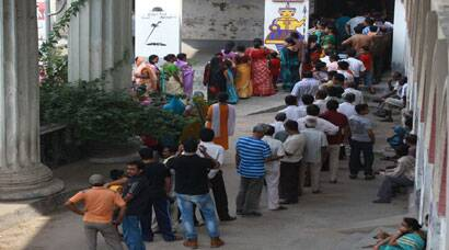 Last phase of Lok Sabha Elections 2014: Polling in Behrampur, West Bengal