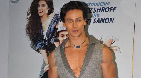 """Yes, I am looking forward to this film,"" said Tiger Shroff."