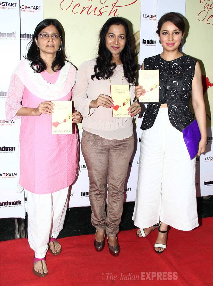 Tisca launched 'Once Upon A Crush' by Kiran Manral. (Photo: Varinder Chawla)