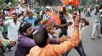 TMC BJP clash1
