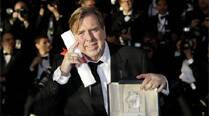 Britain's Timothy Spall wins best actor atCannes