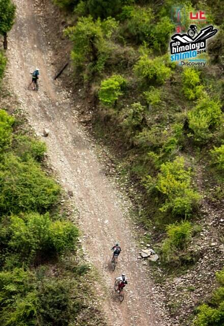 Riders making their way uphill. (Picture: HASTPA)
