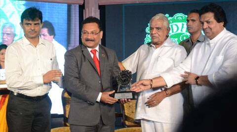 The award was presented by Mr. Babulal Gaur – Cabinet minister for Home and Jail and by Mr. Surendra Patwa – State Minister for Culture and Tourism.