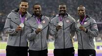 Gay's teammates may lose London 2012 silver medals