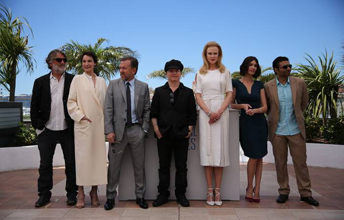 Uday Chopra finally got to pose with Nicole Kidman. The actor-turned-producer was seen with the cast of his production venture 'Grace of Monaco' – Nicole Kidman, Tim Roth, Paz Vega, Jeanne Balibar and director Olivier Dahan for a photo op at Cannes.  (Image Courtesy: FDC)
