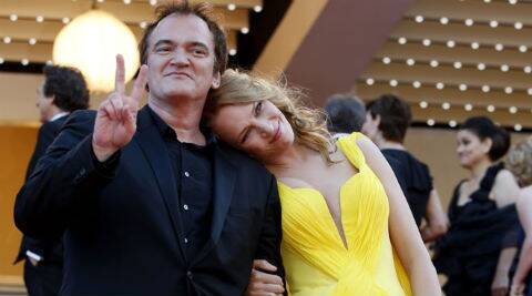 Uma Thurman has been a friend and muse to Quenton Tarantino for many years. (Source: AP)