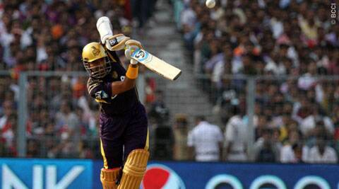 This was Uthappa's fifth half-century this season as with a tally of 572 runs (Photo: BCCI/IPL)