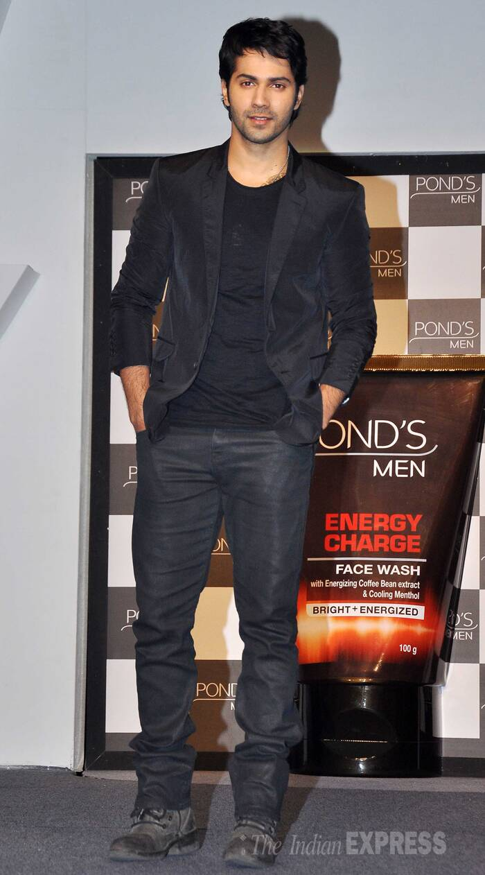Varun has been appointed as the new ambassador for the men's cosmetic brand. (Photo: Varinder Chawla)